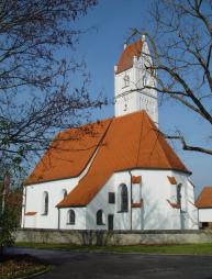 1430 bis 1450: Bau der Filialkirche St. Wolfgang