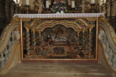 1710: Erweiterung Filialkirche St. Wolfgang