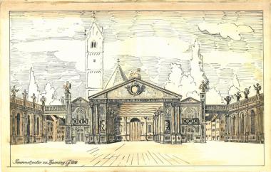 1724 – 1838: Aufführung der Thaininger Passionsspiele