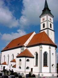 1762 – 1764: Bau der Pfarrkirche St. Martin