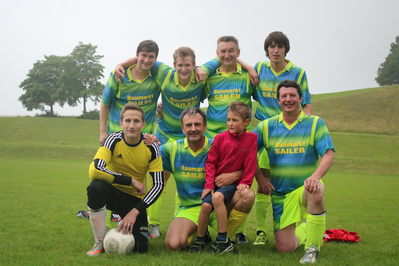 Dorfmeisterschaft 2016 - Siegerteam Obergasse/Zaunäckerweg